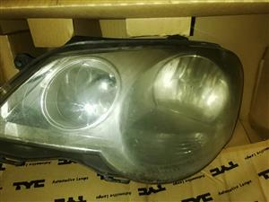 Vw Polo head lights and steering pump