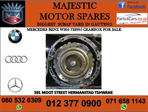 Mercedes benz W205 722995 gearbox for sale