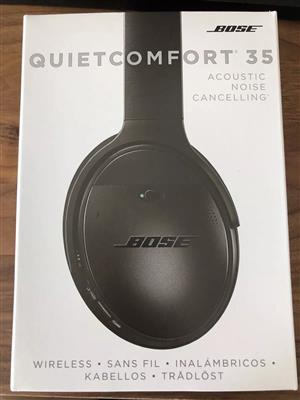 BOSE QC 35 WIRELESS HEADPHONES