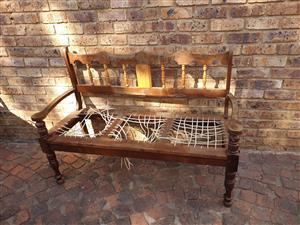 Riempies chair