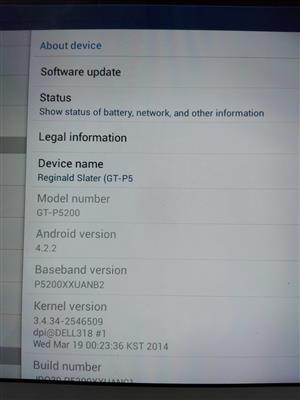 Samsung Galaxy tab 3 32gig to Swop.