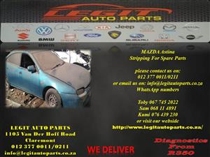 Mazda Astina Stripping for spare parts