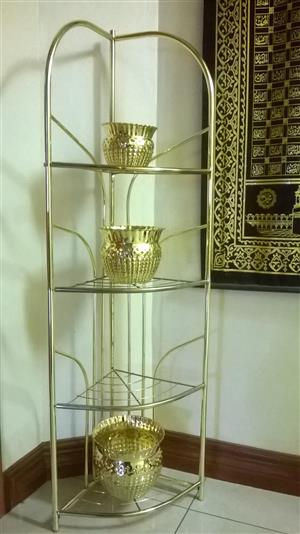 Brand new 4 tier corner display stand