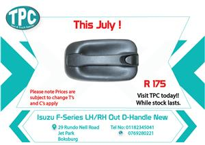 Isuzu F-Series LH/RH Out D-Handle New for Sale at TPC