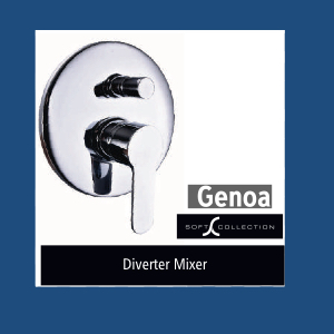 Shower : Diverter Mixer (Genoa)