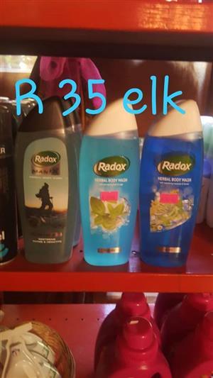 Radox herbal body wash