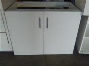 5 Piece White Kitchen Cabinets