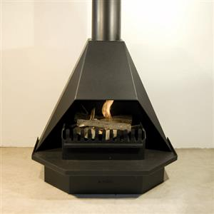 800 Half Hex Fireplace