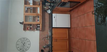Oak kitchen cupboards