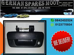 OPEL CORSA GAMMA NEW TAILGATE HANDLE FOR SALE.