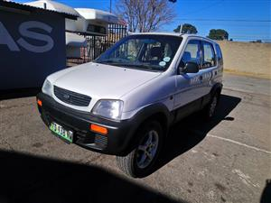 2002 Daihatsu Terios 1.5 4x4