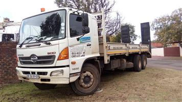 FLATBED FOR HIRE