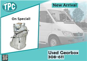 Mercedes Benz Sprinter Used Gearbox 308-611 for sale at TPC