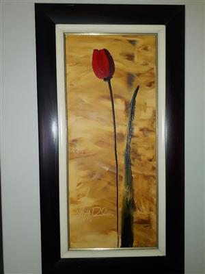 Munro Original Oil Painting.  900mm x 400mm.  Prestine condition.  Frame included.  (Valued at R11,500, excluding frame)