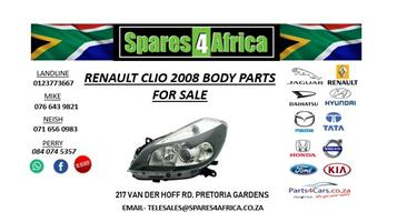 RENAULT CLIO 2008 USED BODY PARTS