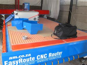 R-1325LC/55 EasyRoute 380V Lite 1300x2500mm Aluminium T-Slot Clamping CNC Router, 5.5kW