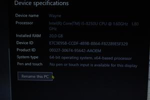 Lenovo Ideapad 330 Core I5 1.8ghz Boost to 3.2 ghz under load 20 gb ram 500gb WD SSD 1TB Hard Drive