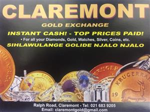 Instant Cash for Gold Top Prices Paid