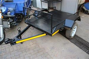 Black quad trailer for sale