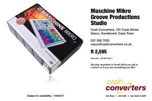 Maschine Mikro Groove Productions Studio