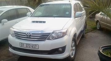 2012 Toyota Fortuner 2.5D 4D