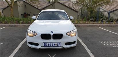2012 BMW 1 Series 116i 5 door