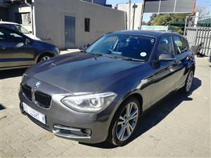 2014 BMW 1 Series 120d 5 door Sport Line sports auto