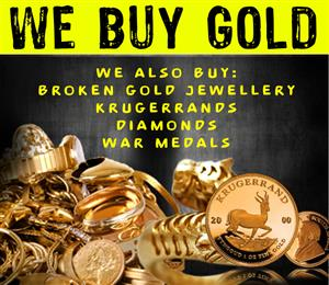 WE BUY GOLD, SILVER, DIAMONDS AND MORE...