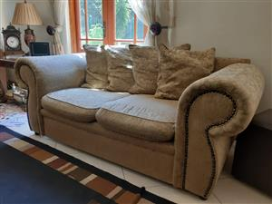 2 double seater couches for sale