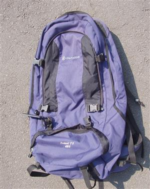 Backpack 75 ABS - in excellent condition