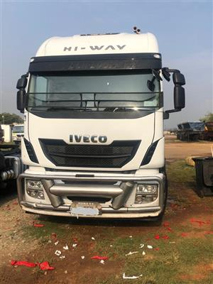 2013 Iveco Stralis 500 on special.