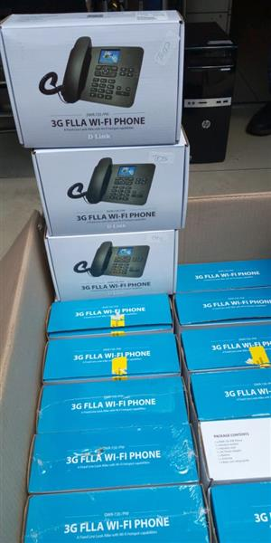 3G FLLA Wi-Fi Phone Brand New Refurbished on special D-Link's DWR-720