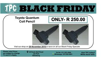 ★★★★BLACK FRIDAY 29 NOV★★★★  Toyota Quantum Coil Pencil For Sale.
