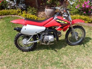 Honda XR 70cc.