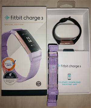 Fitbit charge 3 Special edition for Sale