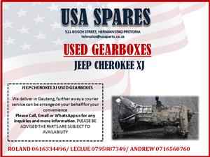 JEEP CHEROKEE XJ USED GEARBOXES FOR SALE