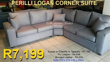 PERILLI LOGAN Corner Lounge Suite