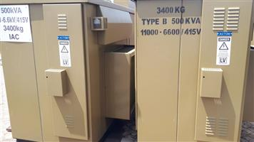 Dual Ratio Mini Sub station 500kva