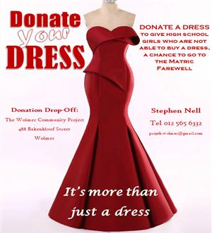 Donate a formal Dress