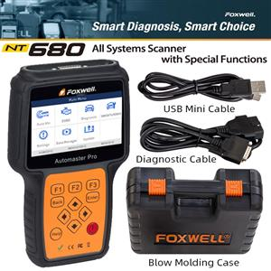 Foxwell NT680 All Systems Scanner With Special Functions