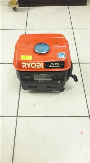 Ryobi generator.