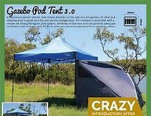 April/May-Special-The Oztrail Pod is a spacious -4 to 6-person shelter at a great price