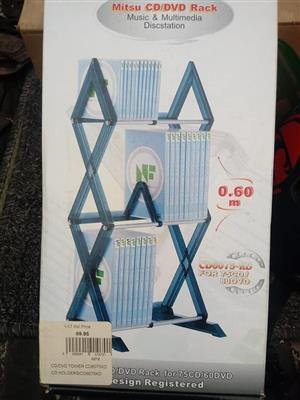 Mitsu cd/dvd rack for sale