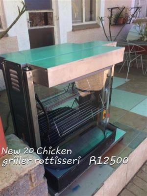 Chicken griller rotisserie for sale