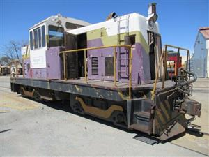 Diesel, Electrical Locomotives and other Wagons in Mining & Construction Online Auction