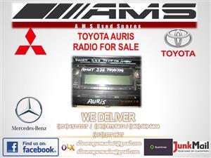 TOYOTA AURIS RADIO FOR SALE