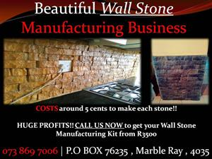 Rock Art Wall Cladding Making Business