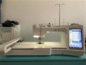 BROTHER QUATTRO 2 INNOVIS 6700D SEWING EMBROIDERY MACHINE 3 UPGRADES for sale  Nigel
