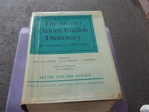 oxford english dictionary for sale  Pietermartizburg