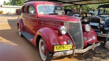 1936 Ford 4 door - R180,000